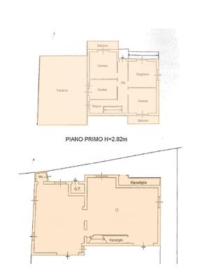 pianta jpg_25 - VILLA MACCAGNO CON PINO E VEDDASCA (VA) CENTRO