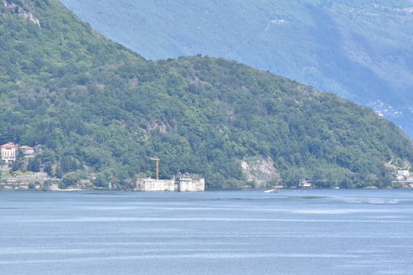 07-5 vista castelli di cannero - APPARTAMENTO PORTO VALTRAVAGLIA (VA) MONTE SOLE