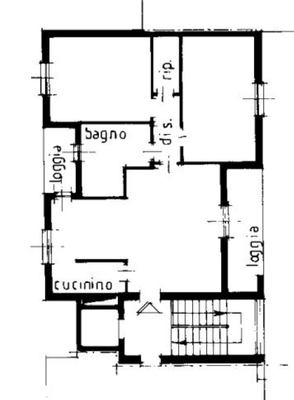 02-1 soggiorno_01 - APPARTAMENTO GERMIGNAGA (VA) PREMAGGIO