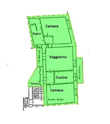 02-1 soggiorno_03 - APPARTAMENTO GERMIGNAGA (VA) CENTRO