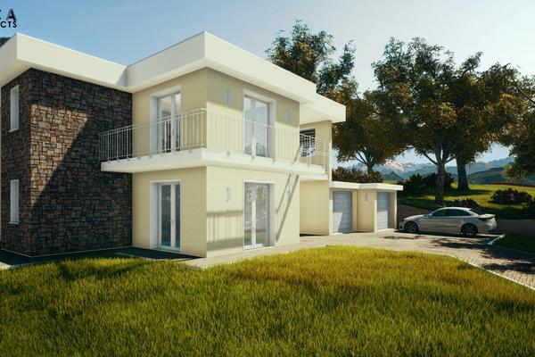 04-2 villa bifamiliare con box - COMPLESSO IMMOBILIARE GERMIGNAGA (VA) SEMICENTRO