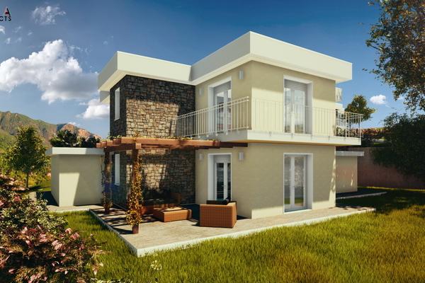 05-2 villa bifamiliare con box - COMPLESSO IMMOBILIARE GERMIGNAGA (VA) SEMICENTRO