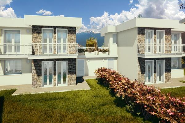 03-2 villa gemellare retro_04 - COMPLESSO IMMOBILIARE GERMIGNAGA (VA) SEMICENTRO