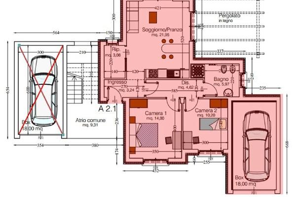 04-2 rendering_09 - APPARTAMENTO GERMIGNAGA (VA) SEMICENTRO