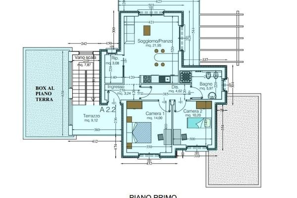 04-1 rendering_07 - APPARTAMENTO GERMIGNAGA (VA) SEMICENTRO