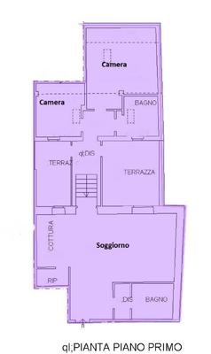 02-2 soggiorno-cucina_01 - APPARTAMENTO GERMIGNAGA (VA) CENTRO