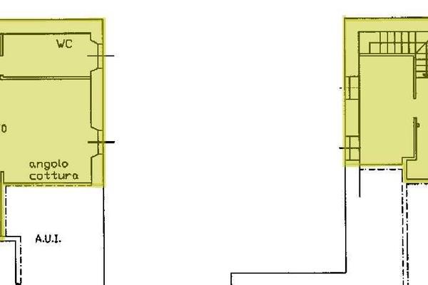 01 soggiorno-cucina (8) - APPARTAMENTO ARCISATE (VA) CENTRO