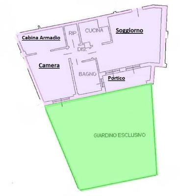 01-1 giardino_00 - APPARTAMENTO LUINO (VA) CREVA