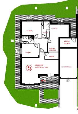 01-5 render area esterna - UNIFAM. GEMELLARE/BIFAM. MESENZANA (VA) AL PIANO