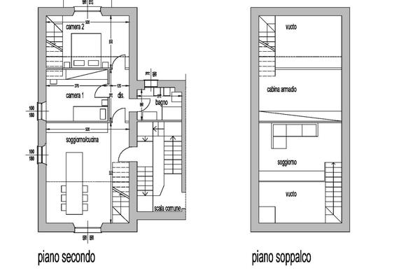 04-1 render zona giorno_06 - APPARTAMENTO LUINO (VA) CENTRO