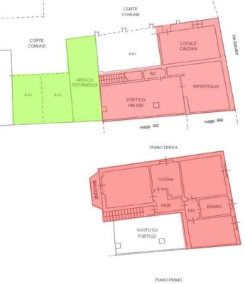 02-1 area esterna posto auto_0 - PORZIONE DI FABBRICATO GRANTOLA (VA) CENTRO
