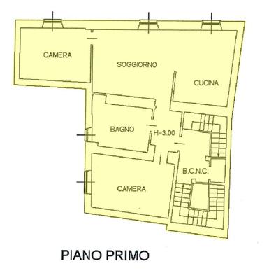 01-3 immobile_02 - APPARTAMENTO PORTO VALTRAVAGLIA (VA) CENTRO