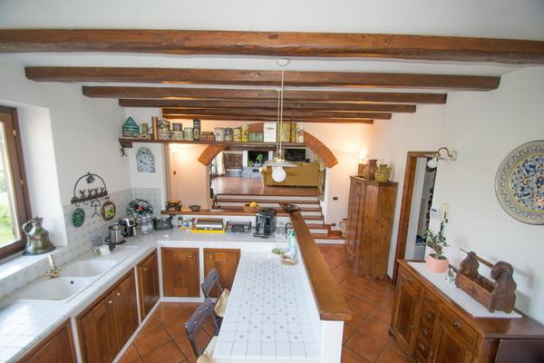 04-1 cucina_12 - VILLA BREZZO DI BEDERO (VA) VAIRA